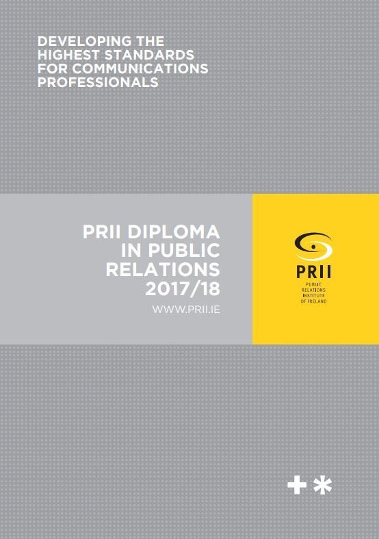 prii announces revamped diploma in public relations martyn rosney pr dublin 12th the public relations